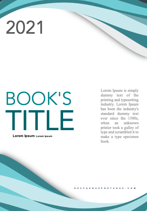 Green Blue Curl Cover Page