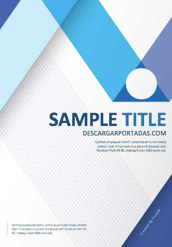 cover-page-design-Blue-GreenCircle