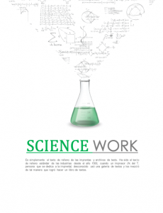 Science Beaker Cover Page