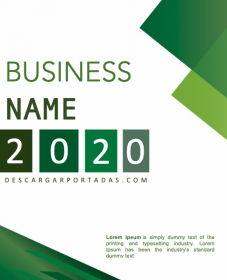 Green Business Cover Page