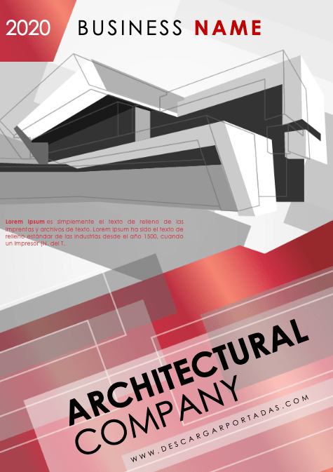 Red-Architectural-Company Cover Page