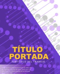 Portada Biologia ADN Purple
